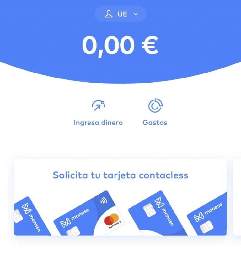 Monese: Abre tu cuenta GRATIS y gana 20 €