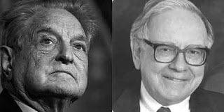 Hábitos de inversión de Soros y Buffet